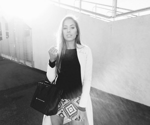 black and white, icon, and fashion image