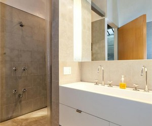 bathroom, new york city, and design image
