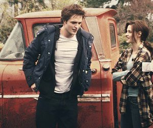 twilight, robert pattinson, and kristen stewart image