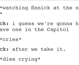 the hunger games and finnick odair image