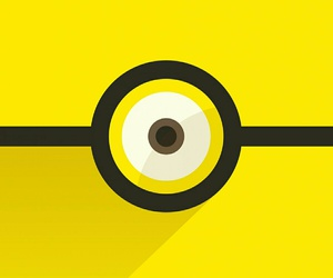 wallpaper, yellow, and miniom image