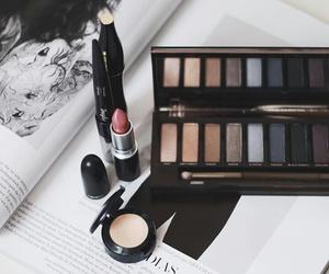 blush, eyeliner, and Foundation image