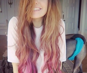 hair, marzia, and smile image