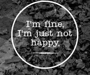 fine, happy, and sad image