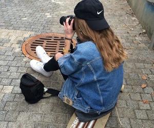girl, nike, and tumblr image