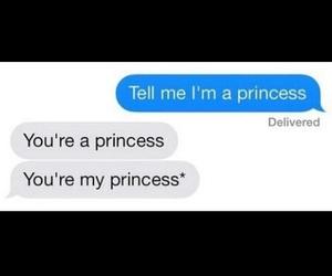 princess, cute, and love image