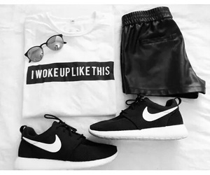 black, hipster, and nike roshe image