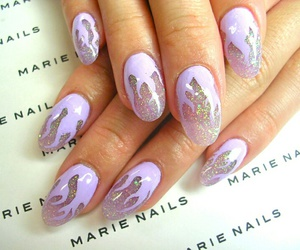 glitter, lavender, and lilac image