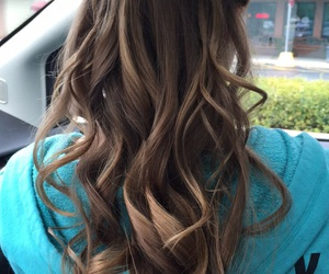 brown hair, hair, and hairstyle image