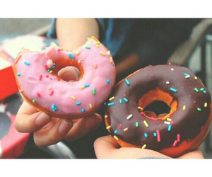 tumblr, donut, and food image