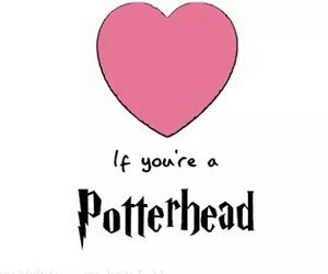 harry potter, potterhead, and heart image