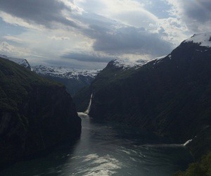 life, norway, and geiranger image