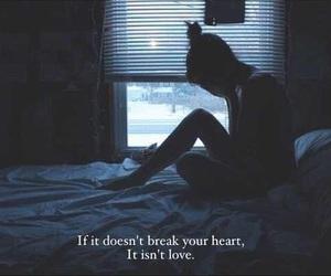 love, sad, and heart image