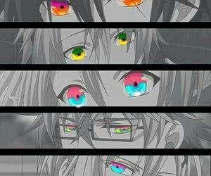 amnesia, anime, and eyes image