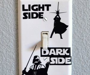 dark side, funny, and light side image