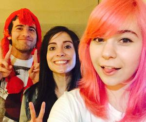 chile, pink hair, and iviiween image