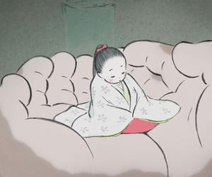 ghibli, studio ghibli, and princess kaguya image