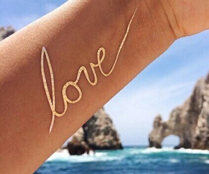 love, tattoo, and summer image