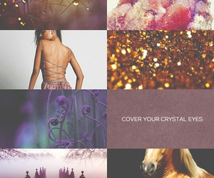 percy jackson, horse, and gold image