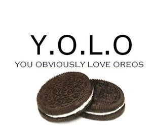 oreo, yolo, and food image
