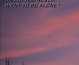 aesthetic, alone, and alternative image