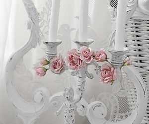 pink, romantic, and shabby chic image