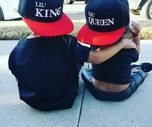 baby, Queen, and king image