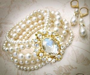 beautiful, nice, and pearls image