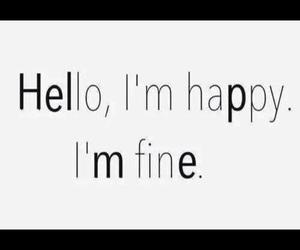 happy, help, and fine image