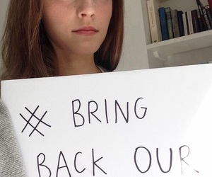 emma watson, bring back our girls, and love image
