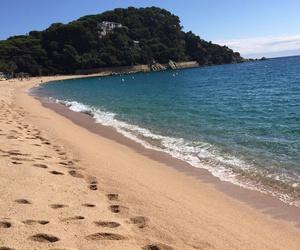 beach, sea, and spain image
