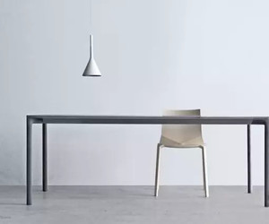 chair, desk, and table image