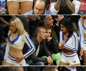 funny, David Beckham, and lol image