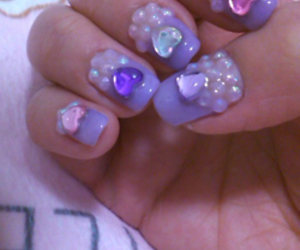 nails, cute, and heart image