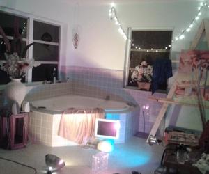 grunge, room, and light image