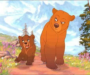 bear, disney, and brother bear image