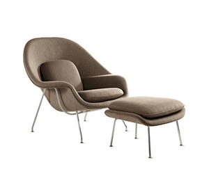 interior design and womb chair image