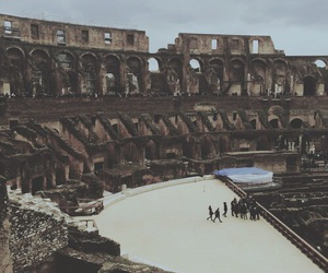 Coliseum, ancient, and beautiful image