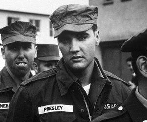 Elvis Presley, elvis, and army image