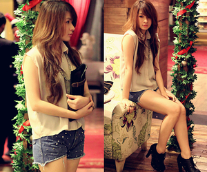 fashion, korean style, and japanese girl clothes image
