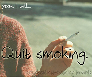 quit and smoking image