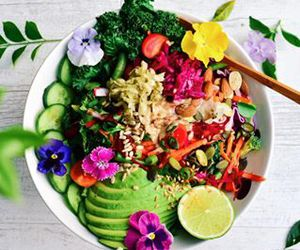 colorful, food photography, and health image