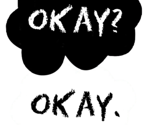 okay, john green, and the fault in our stars image