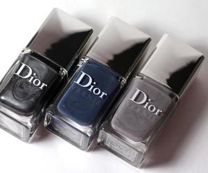 dior, nails, and nail polish image