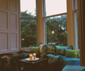 cosy, bay window, and interior image