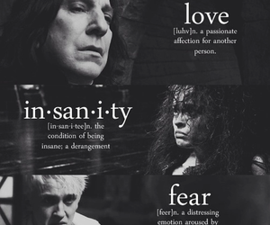 harry potter, draco malfoy, and severus snape image