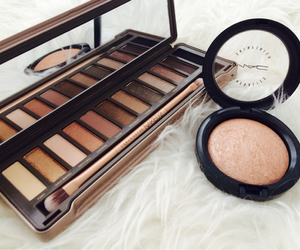 beauty, eye shadows, and make up image