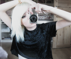 anorexia, bleach blonde, and shelley image