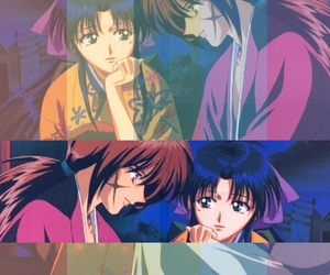 anime, couple, and kenshin image