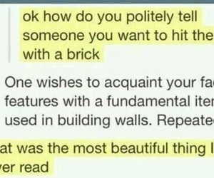 brick and funny image